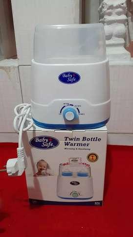 Baby Safe Penghangat  Susu & Sterilisasi Botol Dot