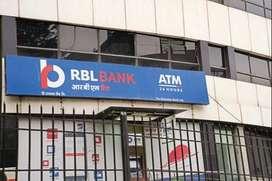 RBL Bank process hiring for KYC Verification /Data Entry/CCE Executive