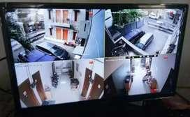 Paket kamera Cctv lengkap dengan pemasangan daerah kadupandak