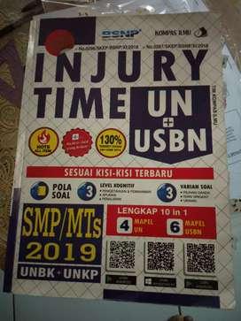 Injury Time Persiapan UN&USBN