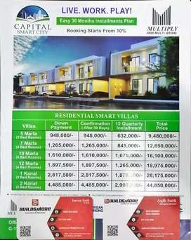 Capital smart city fresh booking available on Installments