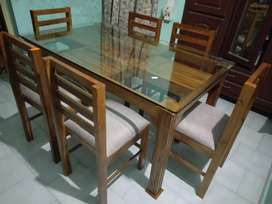 New dining set home delivery.8O784)call(565O4