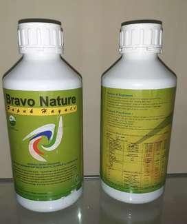 Bravo Nature merupakan produk pupuk hayati yang ramah lingkungan.