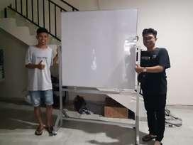 papan tulis stand whiteboard stand