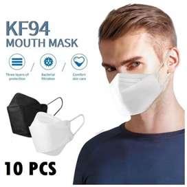 Masker KF94 (beli 4 box free ongkir makassar kota)