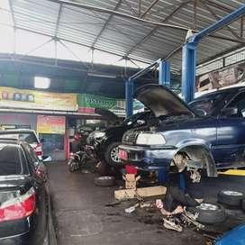 Bengkel mobil di bandar Lampung