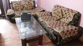 3 piece 2 seater sofa for sale.Wide enough to