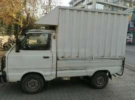 Driver Required for Commercial Suzuki Pickup.