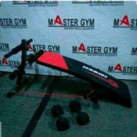 """Alat Fitness SIT UP BENCH T07 """"Sports At Home"""" Master Gym ID#6154"""