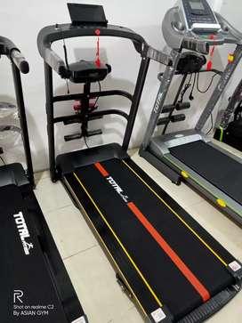 Treadmill listrik multifungsi bisa diantar langsung kerumah