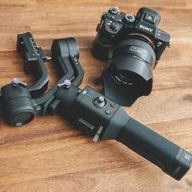 Sony A7iii Ronin SC gimbal & Samyang AF 85mm lens for Rent