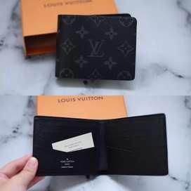 BNIB Dompet Louis Vuitton Monogram Eclipse Ready 100% Authentic