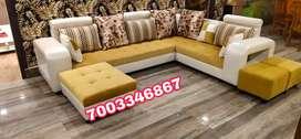 new L sofa set