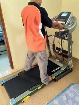 Big Treadmil TL 288 mesin 2 hp sudah  Inclines