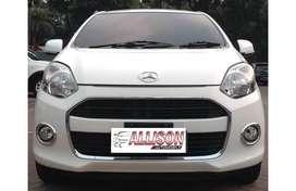 Daihatsu Ayla X Manual 2013 Putih No Pol Genap