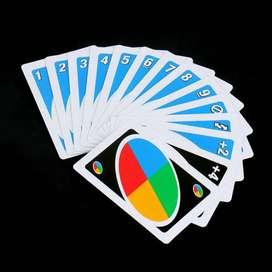 Mainan kartu uno kartu
