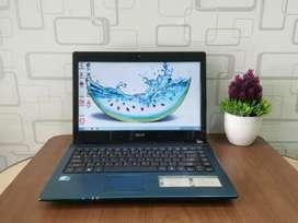 Laptop Acer 4743 Core I3 Mulus