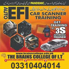 Efi car repairing course. Online earning And more  computer course