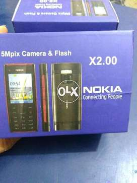 Nokia X2-00  PTA Approved Original Phone Box Pack with Free Delivery