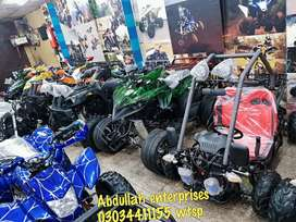 Home delivery all Pakistan atv quad 4 wheels all size available