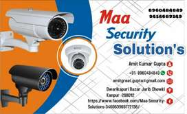 CCTV @9999/- 4 camera set with 26 day recording