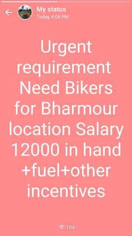 Urgent requirement Delivery boyu