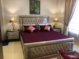Master piece bed with side tables