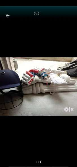 BAS cricket kit all equipments