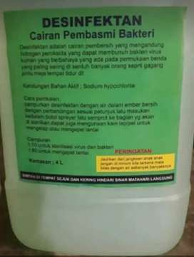 Desenfektan Cairan pembasmi bakteri