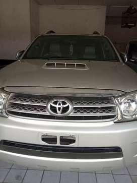 Toyota fortuner G a/t diesel