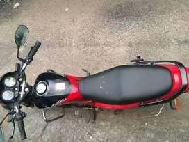 Hero Honda splendor black and red