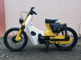 Honda Astrea 800 Tahun 1983 Modifikasi Street Cub