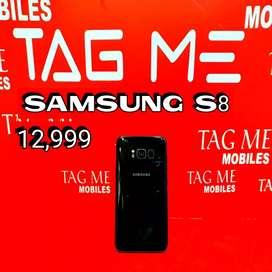 TAG ME SAMSUNG S8 LITE USED MOBILE