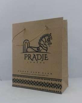 Paper Bag Sablon Craft Paperbag Murah - 10232