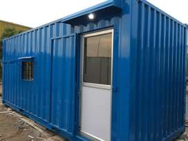 FURNISHED SITE OFFICE CONTIANER