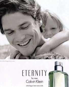 Parfum Minyak Wangi Calvin Klein Eternity 100ml.