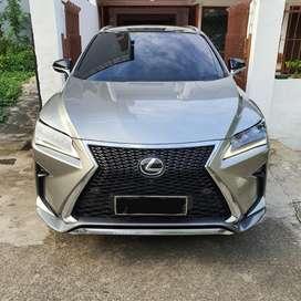 Dijual Lexus RX200T Fsport 2017 sonic titanium