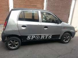 Hyundai santro alowy wheel jalandhar transfor ok conditions ac working