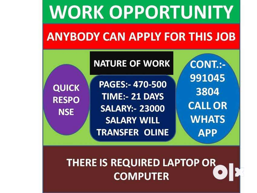 Hiring For Data entry Operator||Typing Speed normal requirement. 0