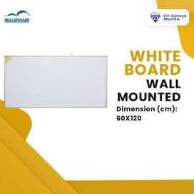 Jual Papan Tulis Whiteboard Gantung Millenium Uk 60x120 Di Malang