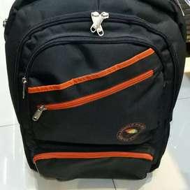 Backpack tas ransel trolley merk arnold palmer original authentic