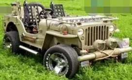 Modified Willy jeep price