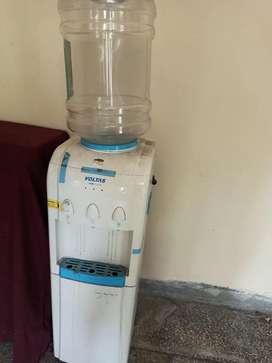 Voltas water dispenser and mini fridge