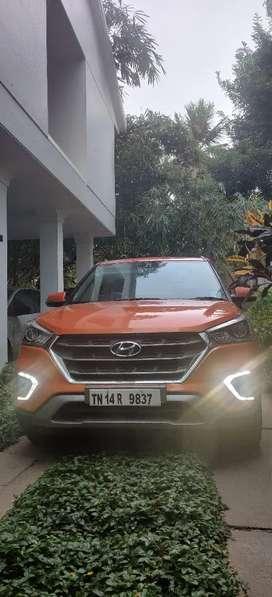Hyundai Creta SX 1.6 petrol done only 16200 kms