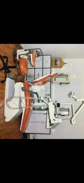 2 Dental chair bestodent and vidya only 50000 good condition