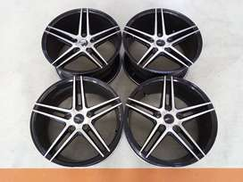 Velg Bekas HSR Type NE5 Ring 18 Buat Civic,Stream,Accord,Innova dll