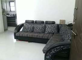 1Bhk Posh flat on rent with Kitchen trolley near D-Mart Ravet