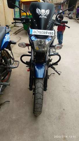 Its bajaj v15 ocean blue colour in brand new condition  all document