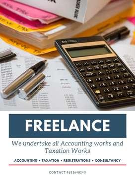 Freelance Accounting & GST works undertake