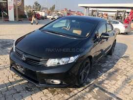 Family Car Civic 2015 with AC in Good Condition
